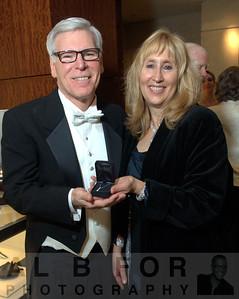 Winners: Sara Cerato with Dennis Adams