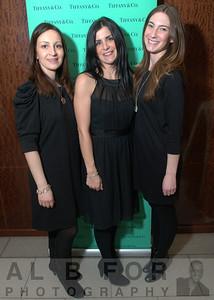 Erin Felt, Laura Sartain and Claudia Michaud ( Sales at Tiffany & Co.)