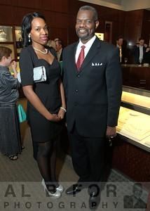Malikah Upchurch and Michael Lewis