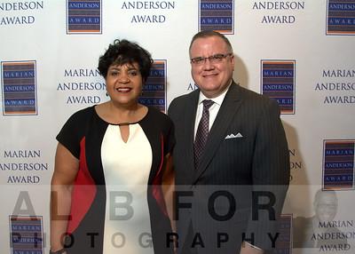 June 14, 2016  Marian Anderson Award 2016 Recipients.