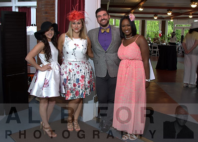 May 7, 2016 West Laurel Hill Cemetery Derby party