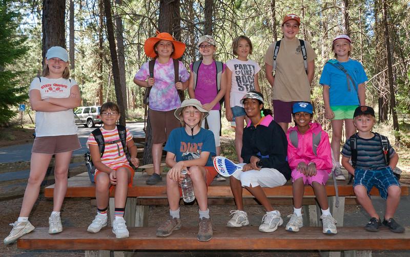 Pleine Aire Paintout 2010  - Metolius River, Camp Sherman Oregon - Gary Miller