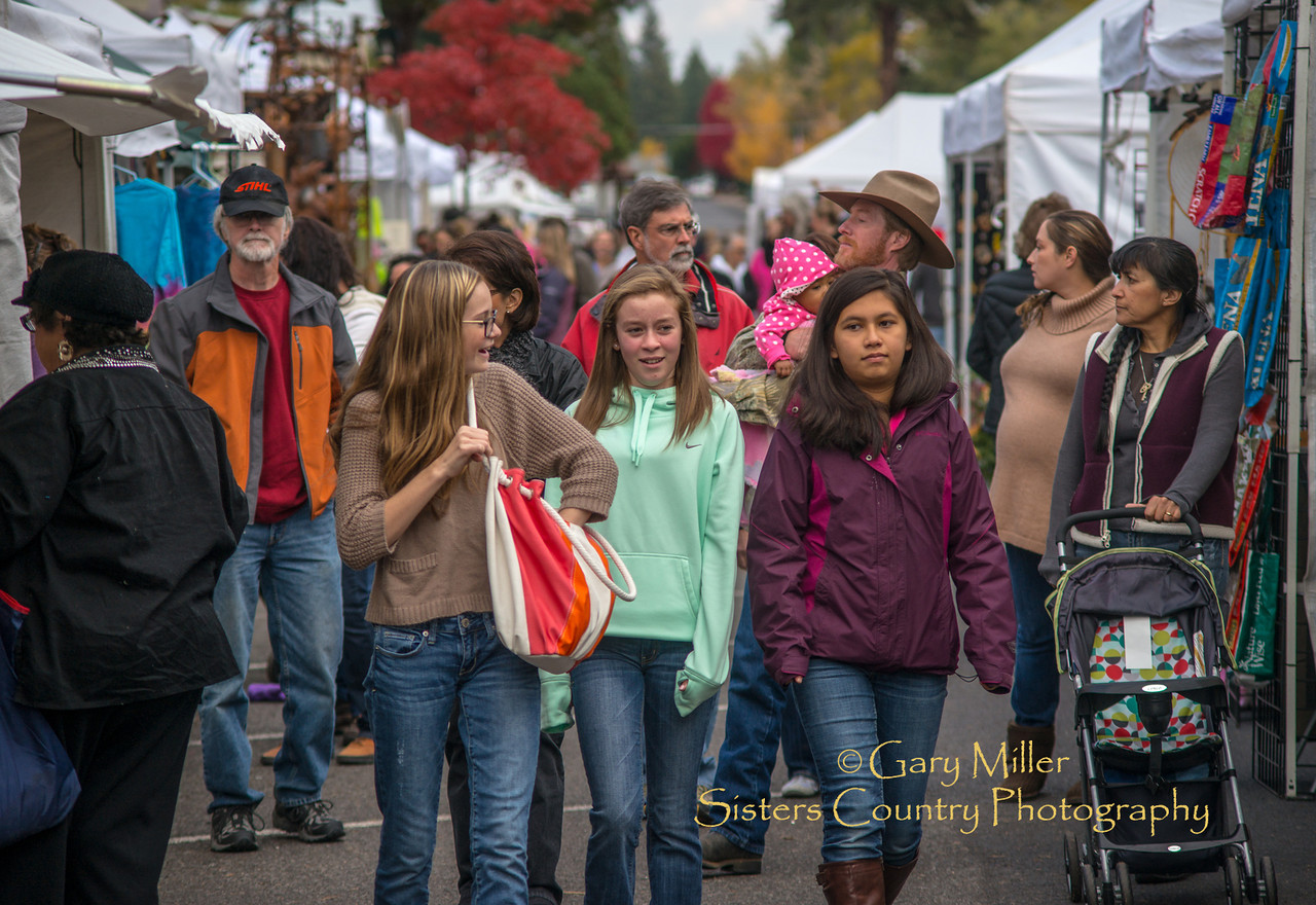Sisters Harvest Faire 2013 - A juried art faire held in Sisters Oregon each October - Copyright © 2013 Gary N. Miller, Sisters Country Photography