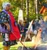 Traditional Native American Salmon Bake, dance and blessing evening hosted by the Wewa Clan and Rhonda Sneva at the Lodge at Suttle Lake Oregoo - September 26, 2013 - Copyright © 2013 Gary N. Miller, Sisters Country Photography