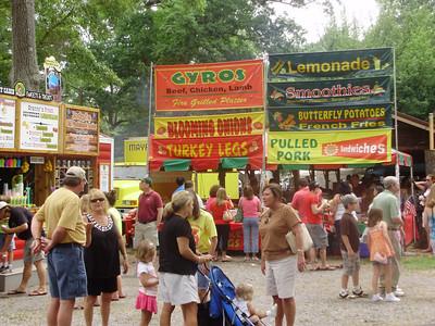 Art Festival in Cave Springs, GA 6-13-09