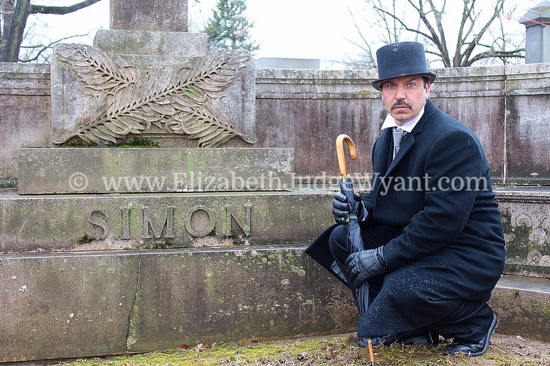 Herman Simon<br /> Art Show in the Cemetery by Preston Hindmarch