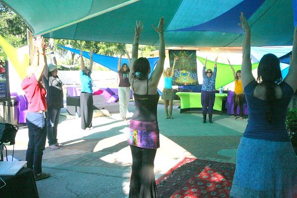 Art / Spirituality Event 2, St Pete Unity FL by Keth 11 13 2010