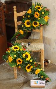 Van Gogh - Yellow Chair and Sunflowers