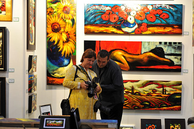 Photographs of International ArtExpo 2008, held at Mandalay Bay Hotel And Casino in Las Vegas, Nevada.