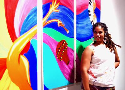 Riki Johnson is a Dallas/Fort-Worth based artist. Visit prettyriki art to see her work.