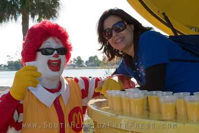 Ronald and the juicers