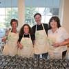 Volunteers, Dave Magee, Joy Helstien, Scott Radovich and Janet Lee at the 2013 California's Artisan Cheese Festival's Grand Cheese Tasting on March 23rd at the Sheraton Sonoma County.