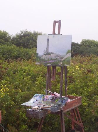 Artist Days on Thacher Island 2003