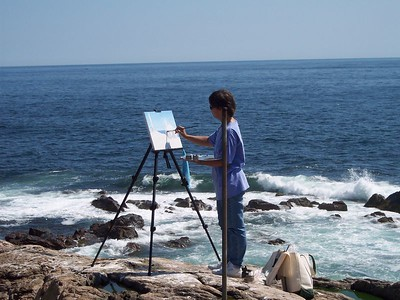 Artist Days on Thacher Island 2004