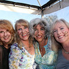 L to R; Katherine Rothop, Pamela Joyce, Jennifer Robin and Colette McMullen enjoy the evening during Arts D'Light held at The Petalma Arts Center on Saturday June 10, 2012.