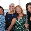 Lovely ladies enjoy the evening during Arts D'Light held at The Petalma Arts Center on Saturday June 10, 2012. L to R: Kathe Giusto (f Full Circle Catering Company) , Noelle Goodrich, Daragh Childs and Nicole Castillo, all of Rouge Salon.