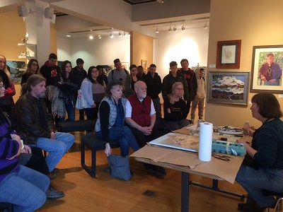 Eileen Kennedy and Rick Tierney - Visiting Artist Workshop