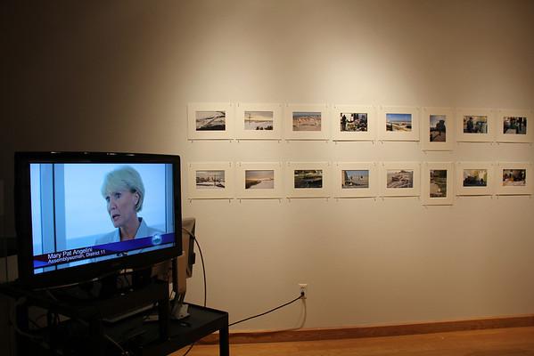 Sandy Retrospective Exhibit, Oct. 2013