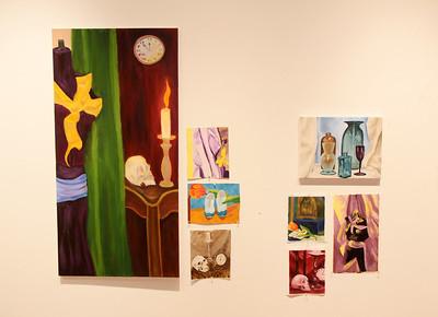 Studio Arts II Exhibition - March 2016