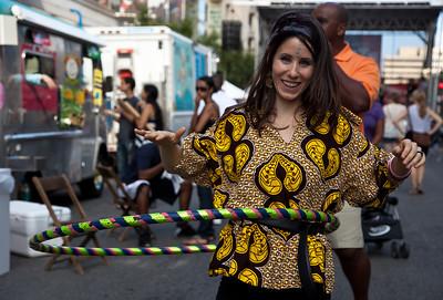 Christine Soykal of fojol bros. of Merlindia traveling carnival
