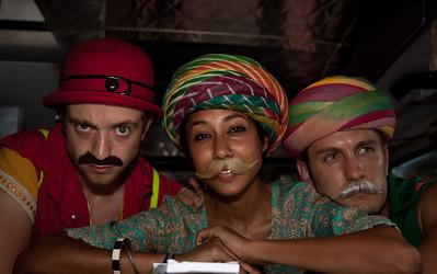 Kipoto, Sulata and Minkalo of fojol bros. of Merlindia traveling carnival