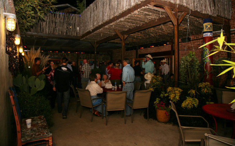Courtyard at the Saddle Club