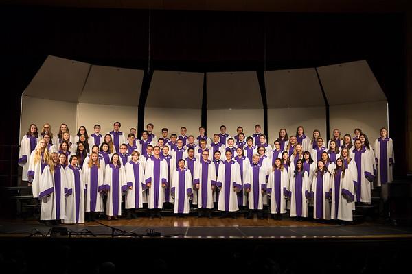 Arvada West Choir Fall Concert 2017 Part 2