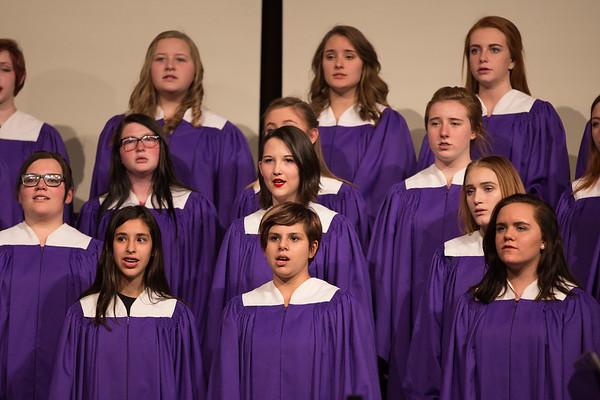 Arvada West Choir Spring Concert Part 1