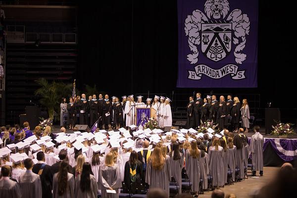 Arvada West High School Graduation 2018