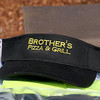 A hat from Bothers Pizza & Grill was put into the time Capsule in Ashburnham on Saturday. SENTINEL & ENTERPRISE/JOHN LOVE