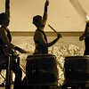 Fushu Daiko, taiko Japanese drummers.