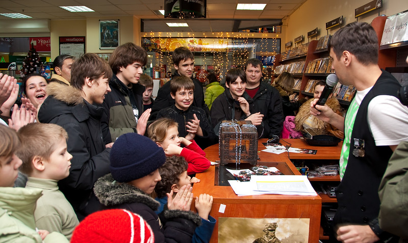 Assassin's Creed II launch event in Empik (Kyiv)