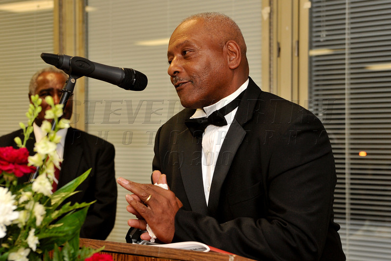 Shaw Athletic Alumni Banquet with the induction of six new members to the Shaw Athletics Hall of Fame. Induction took place in the Willie Gary Student Center in Raleigh on October 18, 2012.