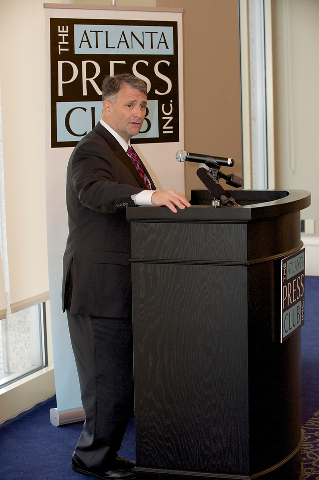 "Common Cause Ga sponsors an Atlanta Press Club Newsmaker Luncheon with former ""Super Lobbyist"" Jack Abramoff."