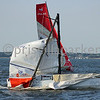 Atlantic Cup-Charleston 2012 : 40 Degrees dismasting near first mark of race out of Charleston Harbor