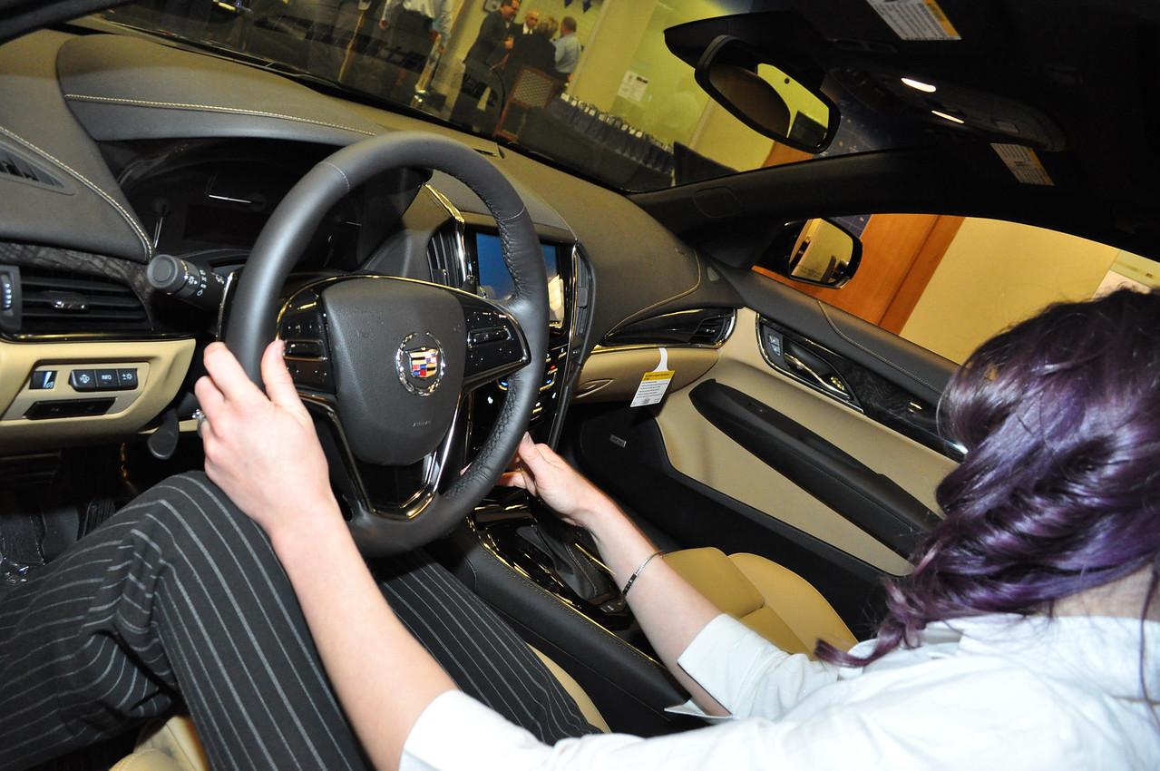 ATS Cadillac Launch at Findlay Cadillac of Las Vegas ...