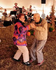 Carolyn Clancy, and 96 year old, Edward Acton, both of Freedom, NH, dance to the music of Ring Ludwig's Barvarian Band, during The 13th Annual Oktoberfest event, hosted by Attitash Ski Area, in Bartlett, NH, on October 9th & 10th, 2010,