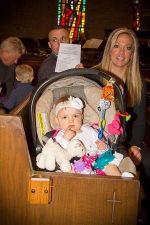 Aubree's Baptism & 1st Birthday