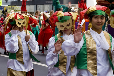 Masks Santa Parade Auckland New Zealand - 27 Nov 2005