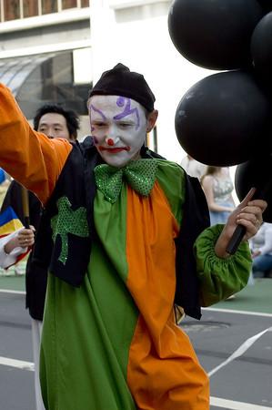 Pierrot Santa Parade Auckland New Zealand - 27 Nov 2005