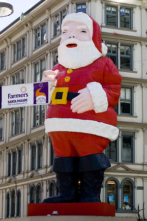 The man himself Santa Parade Auckland  New Zealand - 27 Nov 2005