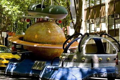 Space, the final frontier Santa Parade Auckland  New Zealand - 27 Nov 2005