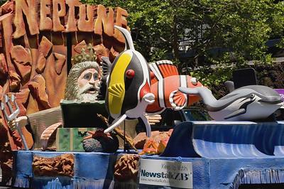 Neptune Santa Parade Auckland New Zealand - 27 Nov 2005