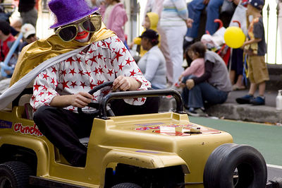 Go kart Santa Parade Auckland New Zealand - 27 Nov 2005