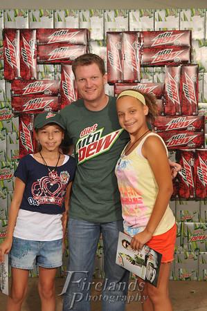 Aug 16, 2012 Dale Jr., Pepsi, Cedar Point