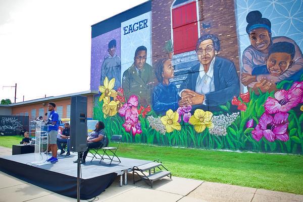 August 14, 2021 - East Baltimore Development Inc Mural Unveiling