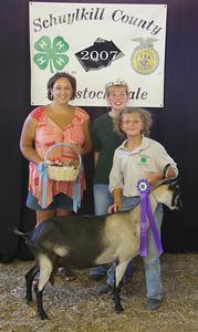 Best of show Dairy Goat Basket, Kileen Sattizahn, Schuylkill Haven