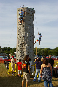 Saturday, August 18th, 2007: ISLAND FEST---Pennsylvania National Guard's Climbing Wall