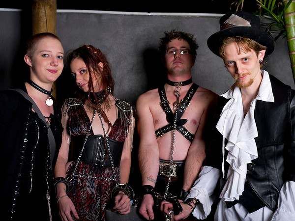 "In this image, accessories and leather work from Hell for Leather<br /> Hell For Leather Clothing<br /> 0402 467 824<br /> tegan@hellforleather.net<br />  <a href=""http://www.hellforleather.net"">http://www.hellforleather.net</a>"