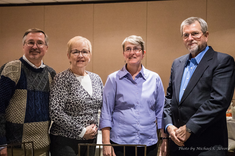 Mike, Karen, Diana and Mark.